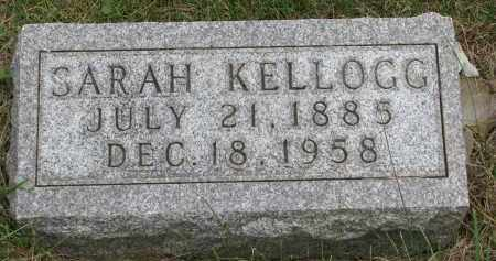 KELLOGG, SARAH - Burt County, Nebraska | SARAH KELLOGG - Nebraska Gravestone Photos