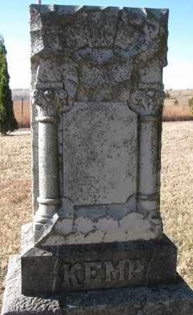 KEMP, FAMILY STONE - Burt County, Nebraska | FAMILY STONE KEMP - Nebraska Gravestone Photos