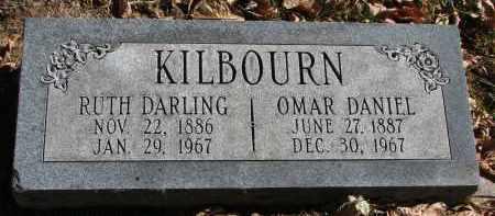 DARLING KILBOURN, RUTH - Burt County, Nebraska | RUTH DARLING KILBOURN - Nebraska Gravestone Photos