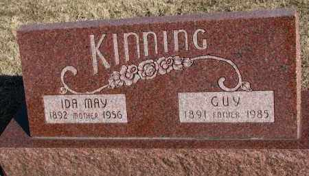 KINNING, IDA MAY - Burt County, Nebraska | IDA MAY KINNING - Nebraska Gravestone Photos