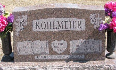 KOHLMEIER, LUCILLE L. - Burt County, Nebraska | LUCILLE L. KOHLMEIER - Nebraska Gravestone Photos
