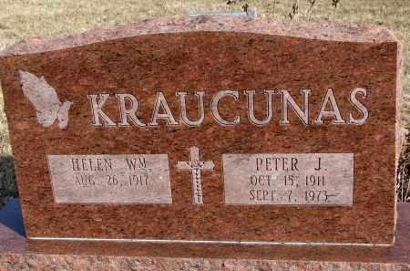 KRAUCUNAS, PETER J. - Burt County, Nebraska | PETER J. KRAUCUNAS - Nebraska Gravestone Photos