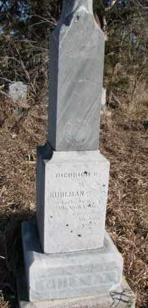 KUHLMAN, DIEDRICH G. - Burt County, Nebraska | DIEDRICH G. KUHLMAN - Nebraska Gravestone Photos