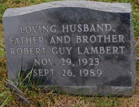 LAMBERT, ROBERT GUY - Burt County, Nebraska | ROBERT GUY LAMBERT - Nebraska Gravestone Photos