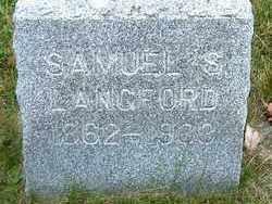 LANGFORD, SAMUEL S. - Burt County, Nebraska | SAMUEL S. LANGFORD - Nebraska Gravestone Photos