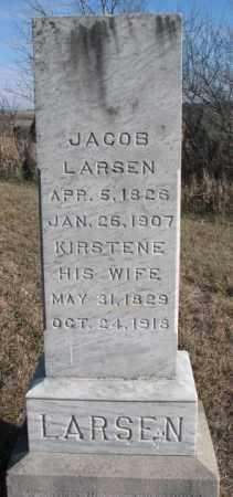 LARSEN, JACOB - Burt County, Nebraska | JACOB LARSEN - Nebraska Gravestone Photos