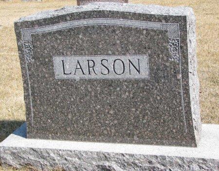 LARSON, *FAMILY MONUMENT - Burt County, Nebraska | *FAMILY MONUMENT LARSON - Nebraska Gravestone Photos