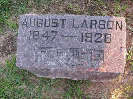 LARSON, AUGUST - Burt County, Nebraska | AUGUST LARSON - Nebraska Gravestone Photos