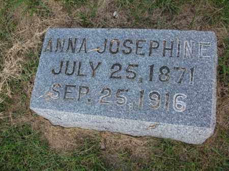 LARSON, ANNA JOSEPHINE - Burt County, Nebraska | ANNA JOSEPHINE LARSON - Nebraska Gravestone Photos