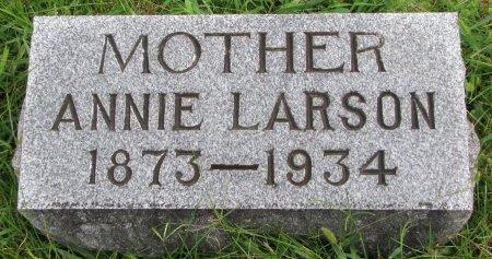 LARSON, ANNIE - Burt County, Nebraska | ANNIE LARSON - Nebraska Gravestone Photos