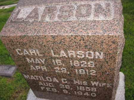 LARSON, CARL - Burt County, Nebraska   CARL LARSON - Nebraska Gravestone Photos