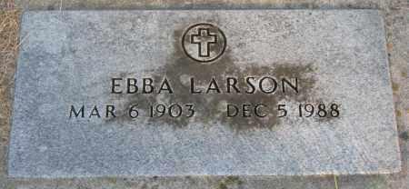 LARSON, EBBA - Burt County, Nebraska | EBBA LARSON - Nebraska Gravestone Photos