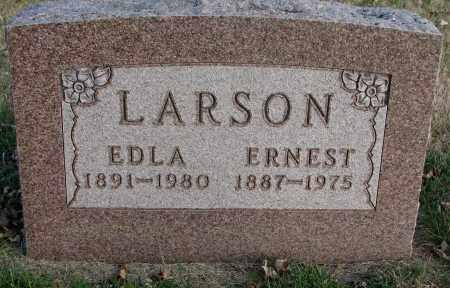 LARSON, EDLA - Burt County, Nebraska   EDLA LARSON - Nebraska Gravestone Photos