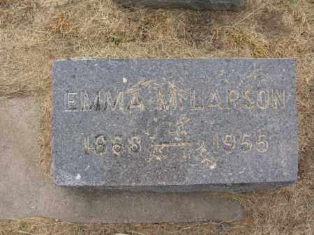 LARSON, EMMA M. - Burt County, Nebraska | EMMA M. LARSON - Nebraska Gravestone Photos