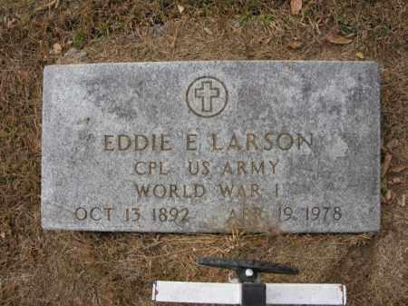 LARSON, EDDIE E. - Burt County, Nebraska | EDDIE E. LARSON - Nebraska Gravestone Photos