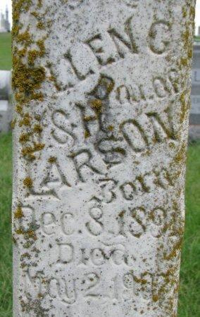 LARSON, ELLEN G. (CLOSE UP) - Burt County, Nebraska   ELLEN G. (CLOSE UP) LARSON - Nebraska Gravestone Photos