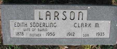 LARSON, CLARK M. - Burt County, Nebraska | CLARK M. LARSON - Nebraska Gravestone Photos