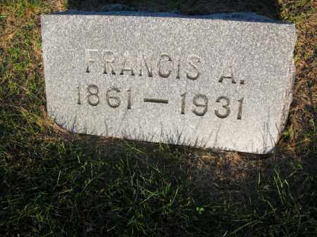 LARSON, FRANCIS A. - Burt County, Nebraska   FRANCIS A. LARSON - Nebraska Gravestone Photos