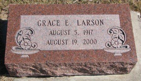 LARSON, GRACE E. - Burt County, Nebraska | GRACE E. LARSON - Nebraska Gravestone Photos