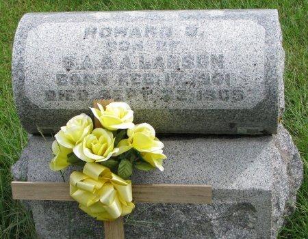 LARSON, HOWARD OLIVER - Burt County, Nebraska | HOWARD OLIVER LARSON - Nebraska Gravestone Photos