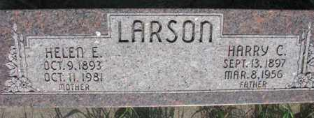LARSON, HARRY C. - Burt County, Nebraska | HARRY C. LARSON - Nebraska Gravestone Photos