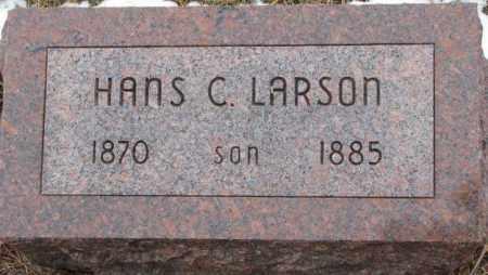 LARSON, HANS C. - Burt County, Nebraska   HANS C. LARSON - Nebraska Gravestone Photos