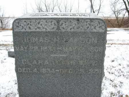 LARSON, JONAS H. - Burt County, Nebraska | JONAS H. LARSON - Nebraska Gravestone Photos