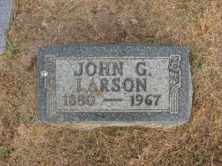 LARSON, JOHN G. - Burt County, Nebraska | JOHN G. LARSON - Nebraska Gravestone Photos