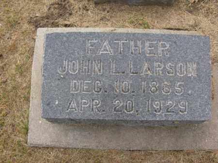 LARSON, JOHN L. - Burt County, Nebraska | JOHN L. LARSON - Nebraska Gravestone Photos