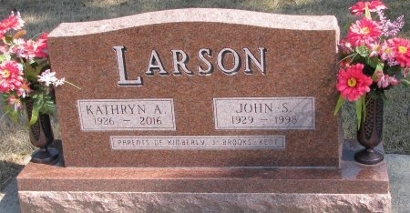 LARSON, JOHN S. - Burt County, Nebraska | JOHN S. LARSON - Nebraska Gravestone Photos