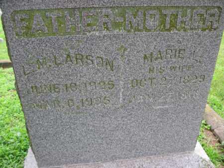 LARSON, MARIE L. - Burt County, Nebraska | MARIE L. LARSON - Nebraska Gravestone Photos