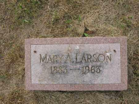 LARSON, MARY A. - Burt County, Nebraska | MARY A. LARSON - Nebraska Gravestone Photos