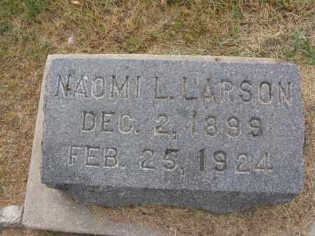 LARSON, NAOMI L. - Burt County, Nebraska | NAOMI L. LARSON - Nebraska Gravestone Photos