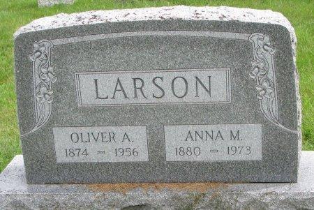 LARSON, ANNA M. - Burt County, Nebraska | ANNA M. LARSON - Nebraska Gravestone Photos