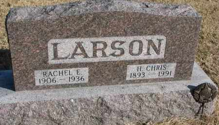 LARSON, H. CHRIS - Burt County, Nebraska | H. CHRIS LARSON - Nebraska Gravestone Photos