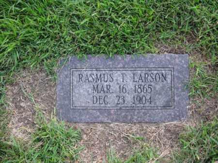 LARSON, RASMUS T. - Burt County, Nebraska | RASMUS T. LARSON - Nebraska Gravestone Photos