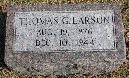 LARSON, THOMAS G. - Burt County, Nebraska   THOMAS G. LARSON - Nebraska Gravestone Photos