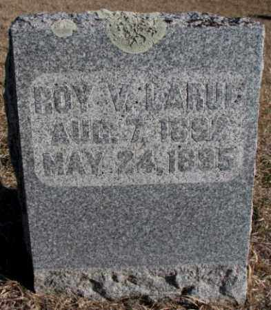 LARUE, ROY V. - Burt County, Nebraska | ROY V. LARUE - Nebraska Gravestone Photos