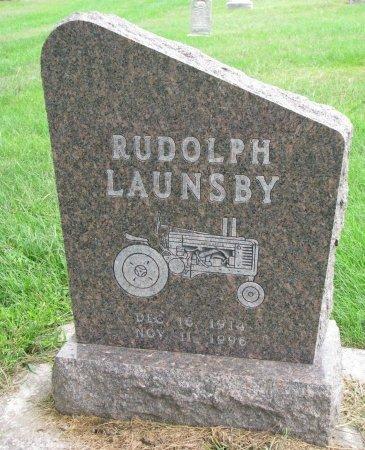 LAUNSBY, RUDOLPH - Burt County, Nebraska | RUDOLPH LAUNSBY - Nebraska Gravestone Photos