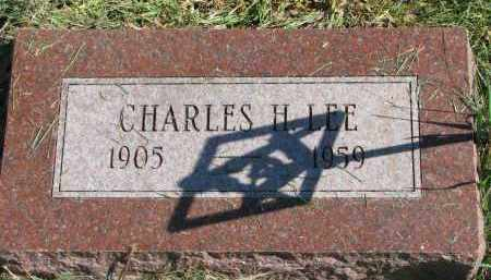 LEE, CHARLES H. - Burt County, Nebraska | CHARLES H. LEE - Nebraska Gravestone Photos
