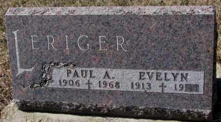 LERIGER, PAUL A. - Burt County, Nebraska | PAUL A. LERIGER - Nebraska Gravestone Photos
