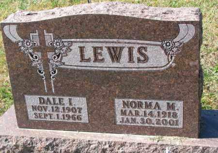 LEWIS, DALE I. - Burt County, Nebraska | DALE I. LEWIS - Nebraska Gravestone Photos