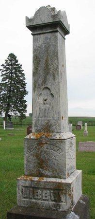 LIBBEY, EDWIN - Burt County, Nebraska | EDWIN LIBBEY - Nebraska Gravestone Photos
