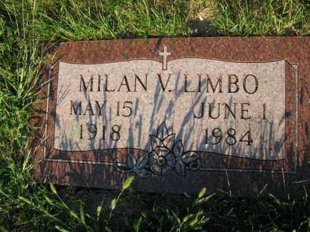 LIMBO, MILAN V. - Burt County, Nebraska | MILAN V. LIMBO - Nebraska Gravestone Photos
