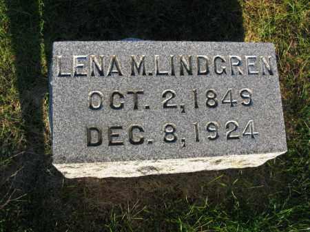 LINDGREN, LENA M. - Burt County, Nebraska | LENA M. LINDGREN - Nebraska Gravestone Photos