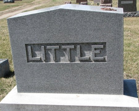 LITTLE, *FAMILY MONUMENT - Burt County, Nebraska | *FAMILY MONUMENT LITTLE - Nebraska Gravestone Photos