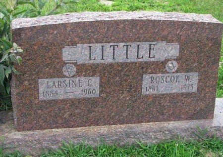 LITTLE, LARSINE C. - Burt County, Nebraska | LARSINE C. LITTLE - Nebraska Gravestone Photos