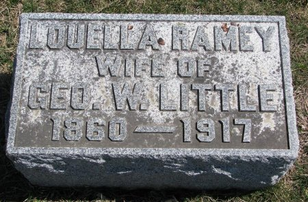 LITTLE, LOUELLA  - Burt County, Nebraska | LOUELLA  LITTLE - Nebraska Gravestone Photos