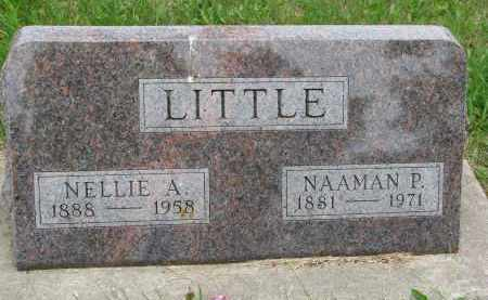 LITTLE, NELLIE A. - Burt County, Nebraska | NELLIE A. LITTLE - Nebraska Gravestone Photos
