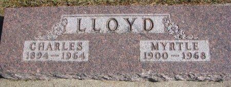 LLOYD, MYRTLE - Burt County, Nebraska | MYRTLE LLOYD - Nebraska Gravestone Photos